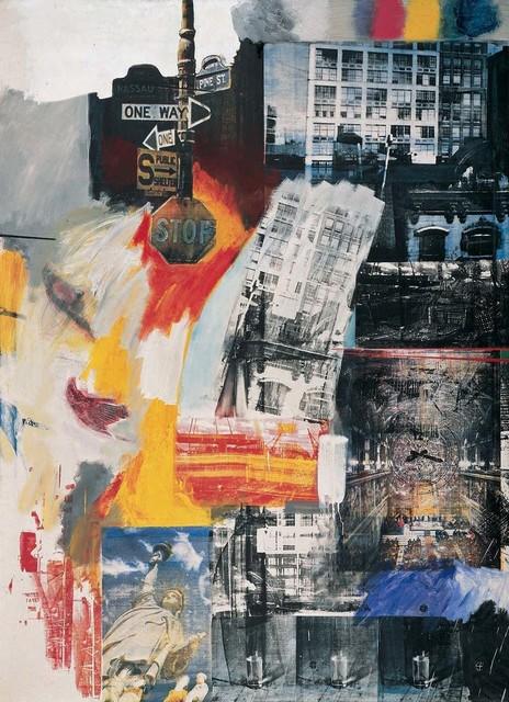 Robert Rauschenberg, 'Estate', 1963, Oil and silkscreen ink on canvas, Robert Rauschenberg Foundation