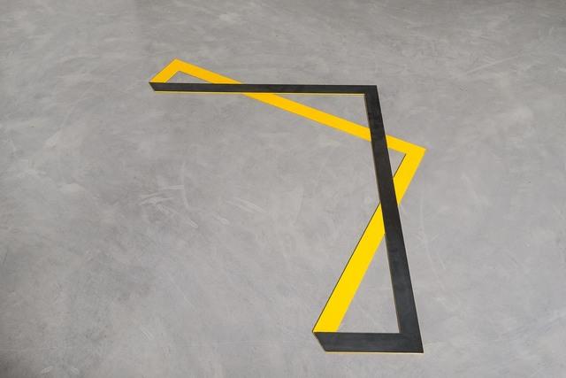 , 'Area division (Folded),' 2013, Galeria Luisa Strina