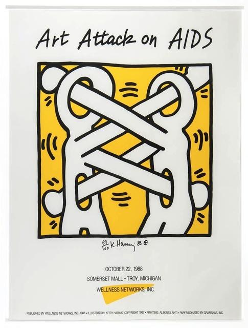 , 'Attack on Aids,' 1988, Rhodes