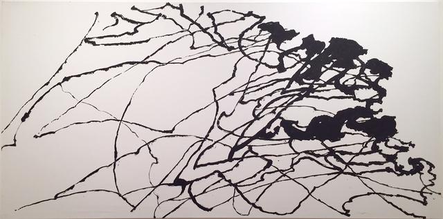 , 'Mouvements d'énergie dans un Chêne - Le Chêne Bas,' 2016, La Forest Divonne