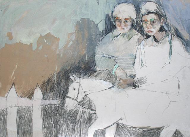 , 'Mascotas, Lara y Paula,' 2017, Anquins Galeria