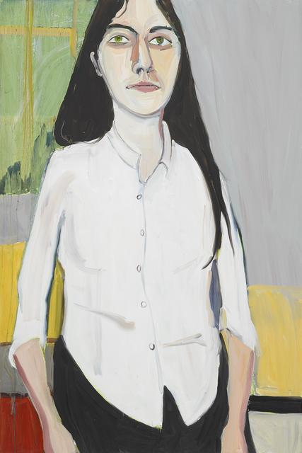 Chantal Joffe, 'Esme in her School Shirt', 2019, Victoria Miro