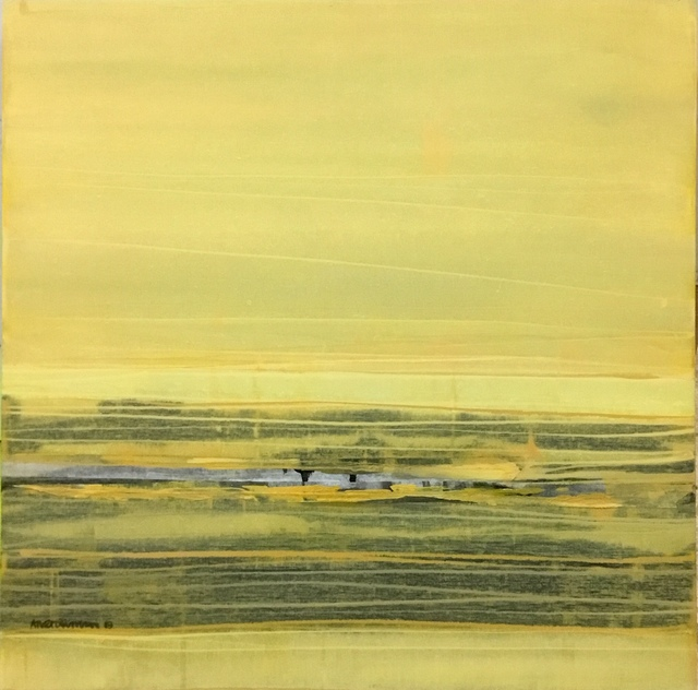 , 'contemporary painting: kom naar Geel (come to Yellow) from Anet Duncan,' 2019, PontArte