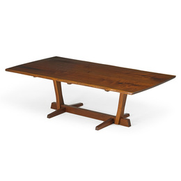 Fine Conoid dining table, New Hope, PA