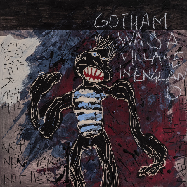 , 'Gotham Was A Village In England | The Freedom Paintings #18,' 2018, heliumcowboy