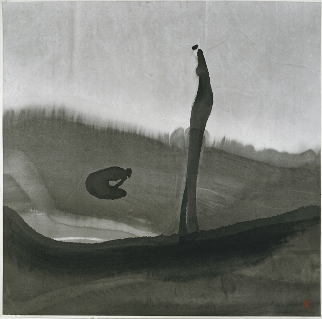 , 'Anguish,' 1995, Musée d'Ixelles