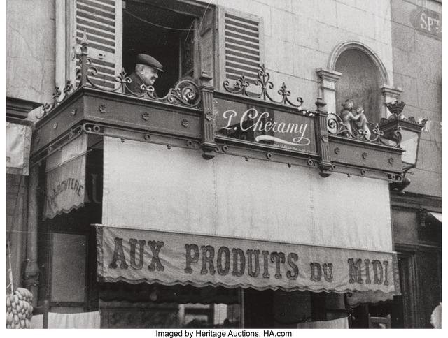 André Kertész, 'Ripples, May 11, Rue Delambre, Paris, and Sixth Avenue, New York City, April 28', 1913; 1928; 1959, Photography, Gelatin silver, circa 1950s, Heritage Auctions