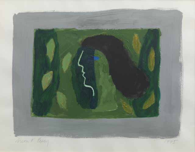 , 'Green Head,' 1995, Pangolin