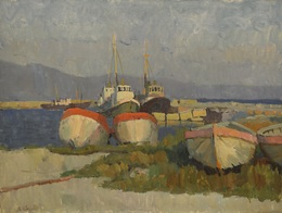 Valery Borisovich Skuridin, 'Sunset in Novorosis', 1975, Surikov Foundation