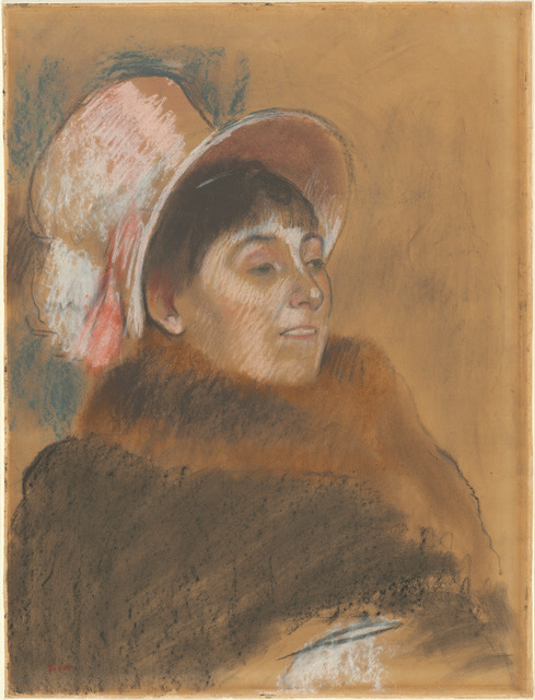 Edgar Degas, 'Madame Dietz-Monnin', 1879, National Gallery of Art, Washington, D.C.