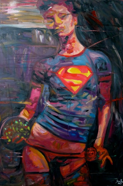 , 'KRYPTONITE GIRL ,' 2017, Imitate Modern