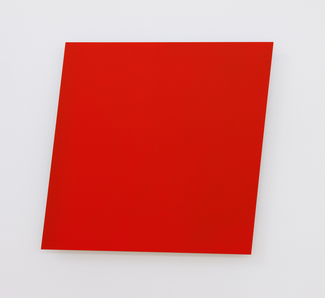 , 'Red Panel,' 1982, Matthew Marks Gallery