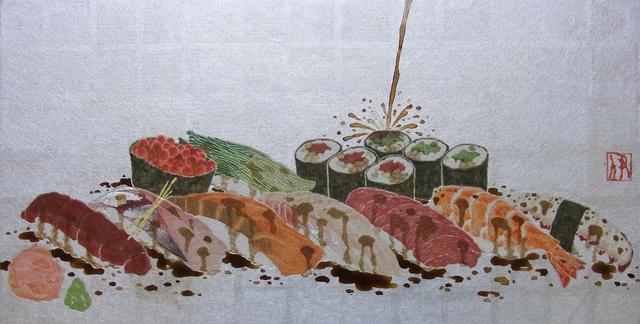 , 'Sushi-Nigri ,' 2011, JanKossen Contemporary