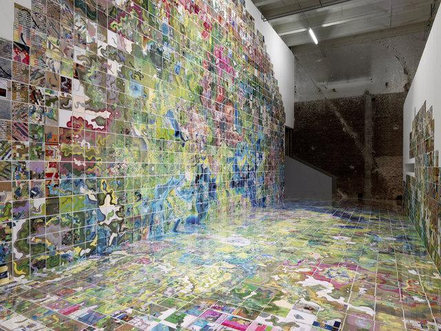, 'Jerry's Map,' 1963-2014, Palais de Tokyo