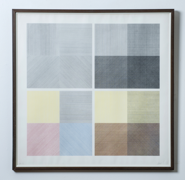 , 'Four Different Orders of Printing,' 1971, Wexler Gallery