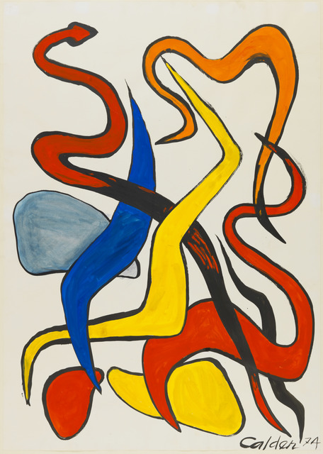, 'Twining Squiggles,' 1974, Omer Tiroche Gallery