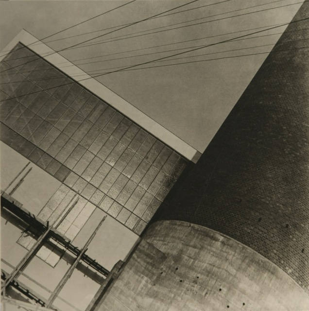 , 'Power Station  ESSO in Kolín,' 1931, see+ Gallery