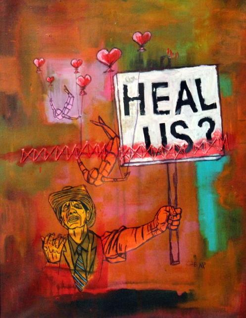 , 'Heal Us?!,' 2016, Bitfactory Gallery