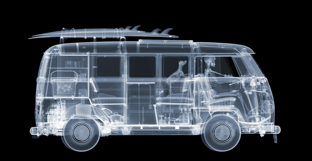 Nick Veasey, 'Camper Van on the Road', 2021, Photography, C-type print,archival inks. Mounted on to dibond with perspex/plexi face., Whistler Contemporary