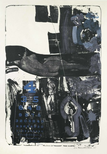 Robert Rauschenberg, 'Breakthrough II', 1965, Print, Lithograph in colors, on wove paper, Christie's