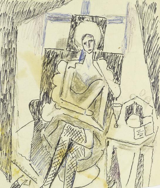 Marie Vorobieff Marevna, 'Self-portrait', 1921, Roseberys