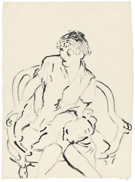 David Hockney, 'Celia Inquiring', 1979, Christie's