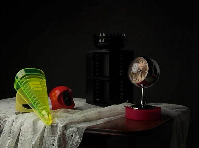 , 'Still Life with Tape Rack and Clocks [AIBDC 37, CR, 17, Shelf 1 of 8, 2.7kg],' 2015, Barbara Thumm