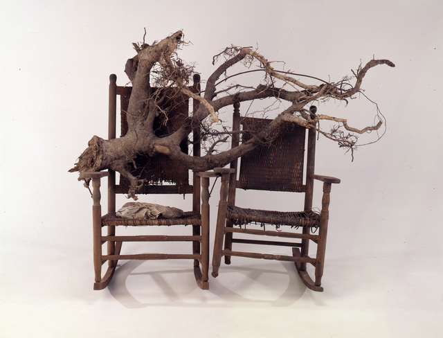 Lonnie Holley, 'Him and Her Hold the Root', 1994, de Young Museum