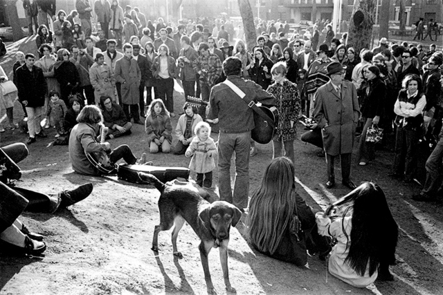 , 'Sunday afternoon in Washington square, NY 1970,' 1970, Galerie Arcturus