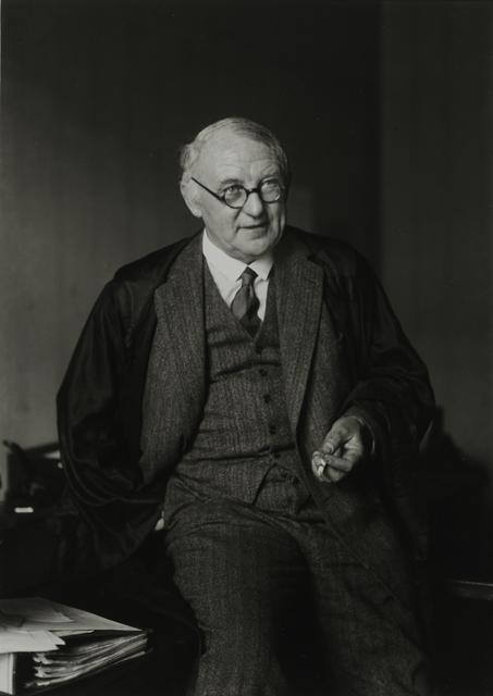 , 'Attorney, 1931,' , Galerie Julian Sander