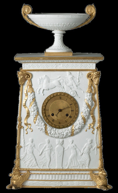 , 'Percier Clock,' 1813, Bard Graduate Center Gallery