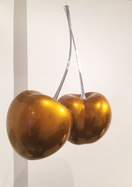 , 'Cherries (Gold),' 2016, Sandra Gering Inc