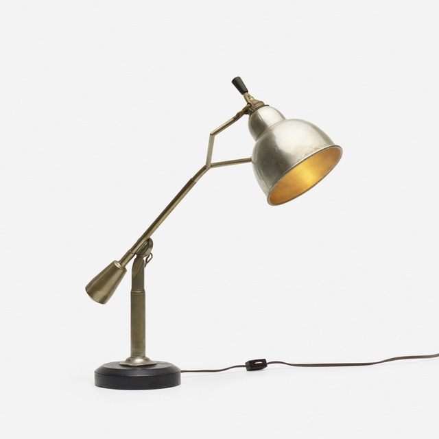 Edouard-Wilfred Buquet, 'table lamp', c. 1925, Wright