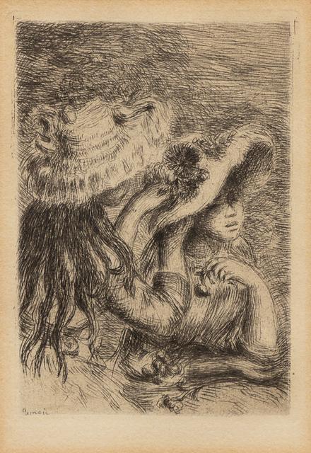 Pierre-Auguste Renoir, 'Le Chapeau Épinglé', c. 1894, Hindman