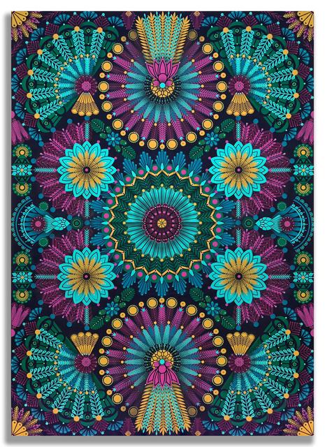 , 'Kaleidoscopic Nature 2,' 2018, Jonathan LeVine Projects