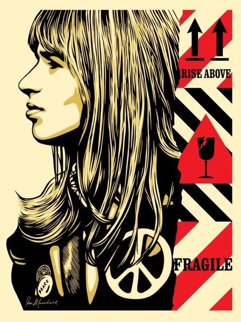 Shepard Fairey, 'Fragile Peace', 2017, Blackline Gallery