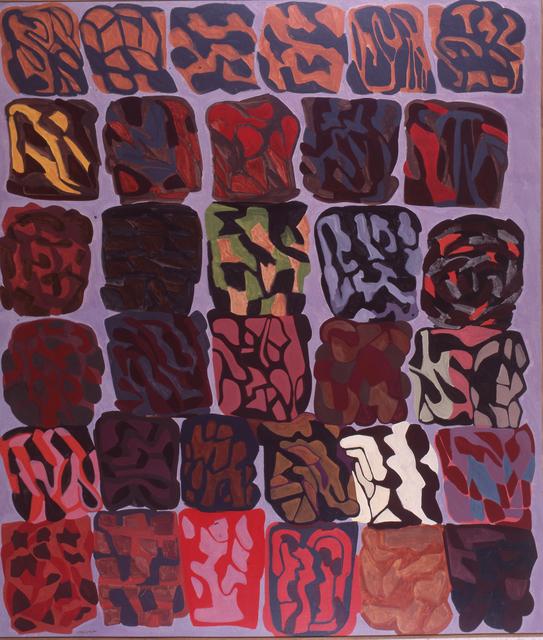, 'Fondo lilla (trentatre immagini),' 1984, Robilant + Voena