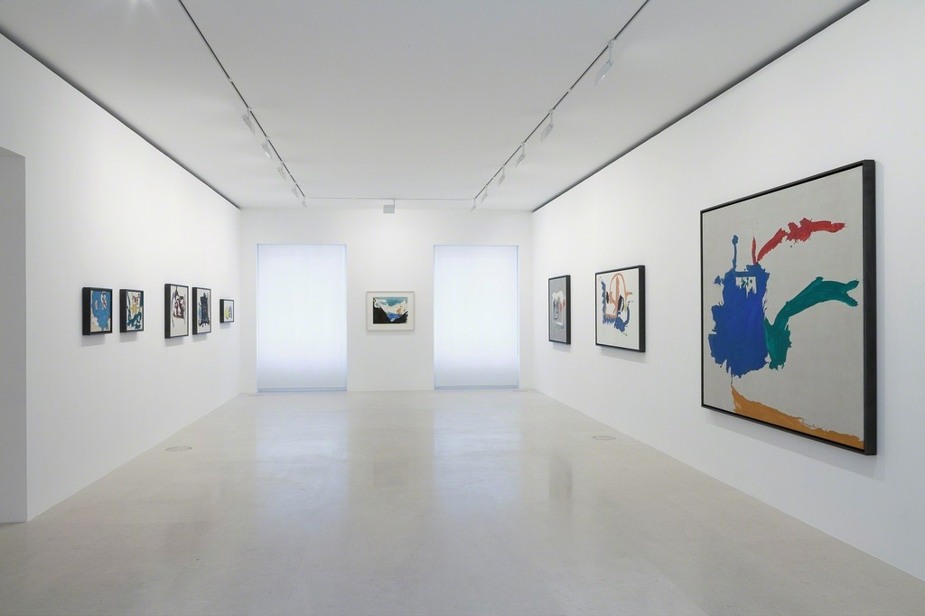 All artwork by Helen Frankenthaler © 2017 Helen Frankenthaler Foundation, Inc./Artists Rights Society (ARS), New York. Photo by Zarko Vijatovic.