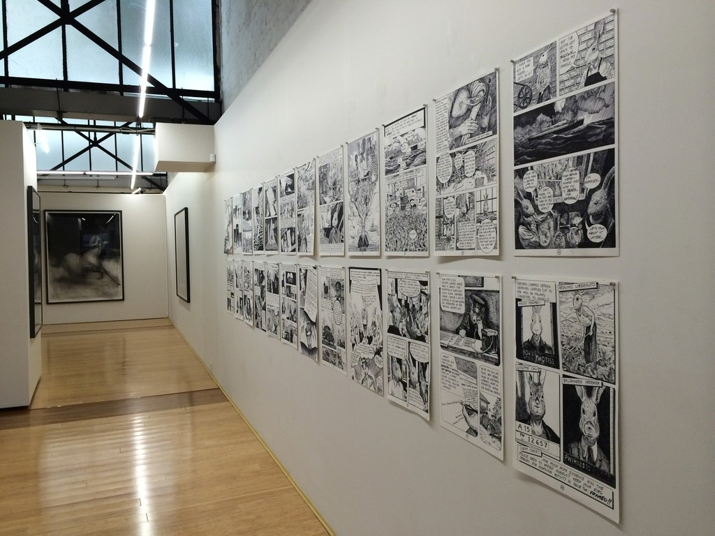 Installation View, Anton Pulvirenti 'Goomiland'