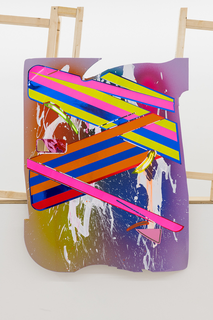 , 'Police Painting 04,' 2018, Annka Kultys Gallery