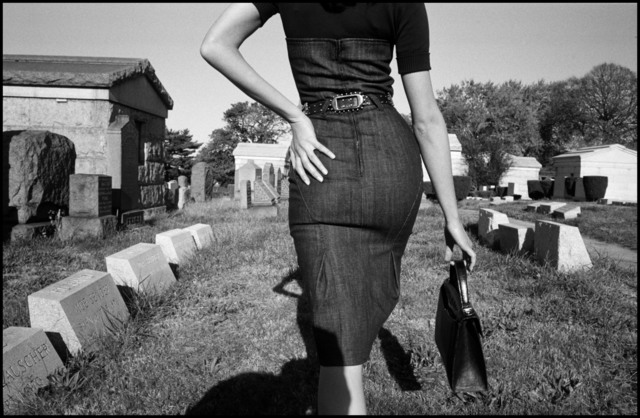 , 'Fashion shoot. Mafia funeral. Queens, New York. USA.,' 2005, Magnum Photos