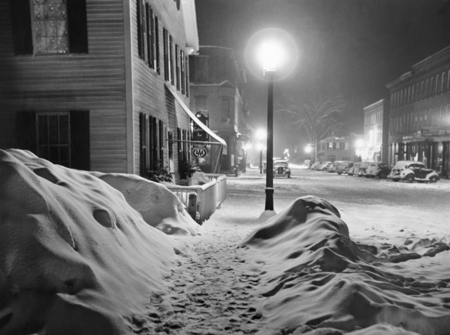 , 'After a Blizzard, Woodstock, VT,' 1940, G. Gibson Gallery