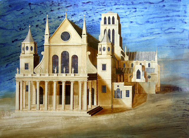 , 'Old St.Pauls Cathedral,' 2015, John Martin Gallery