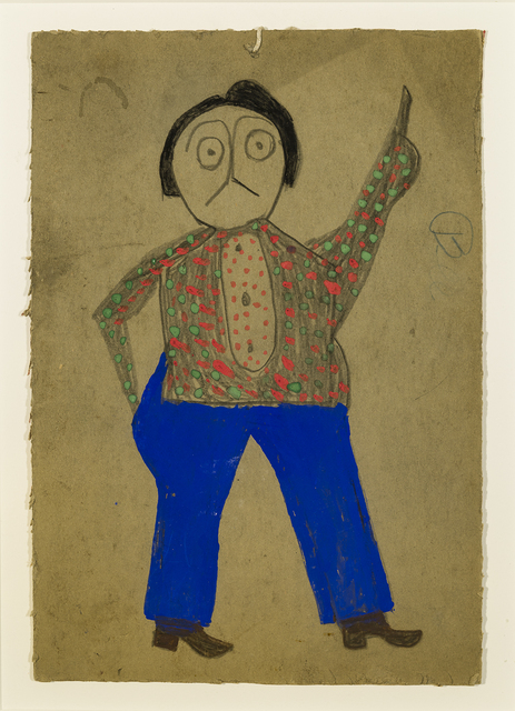 , 'Mexican Man with Green and Red Spotted Shirt,' 1939-1942, Hirschl & Adler