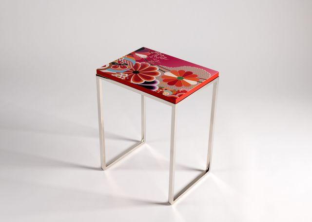 , 'Kiku High Gloss Side Table,' Ireland-2018, Maison Gerard
