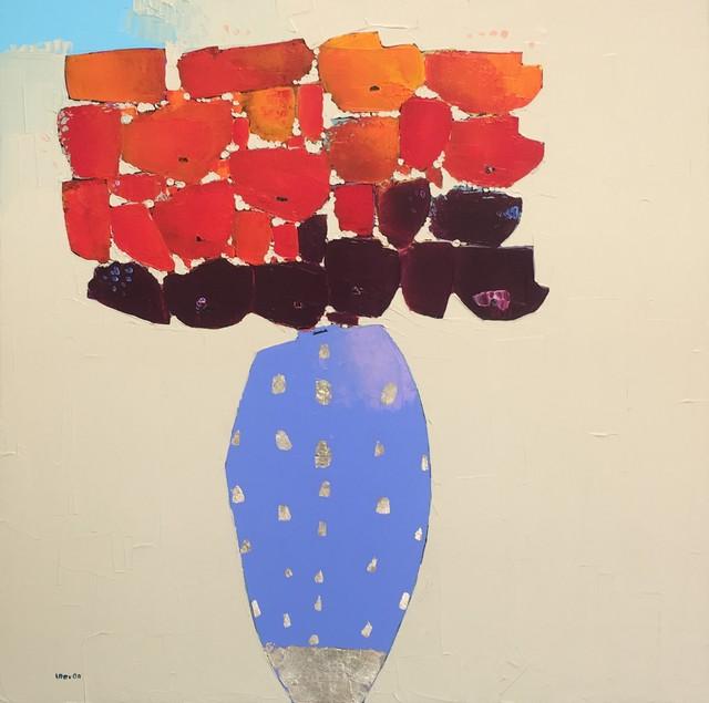 , 'Periwinkle Vase,' 2018, Shain Gallery