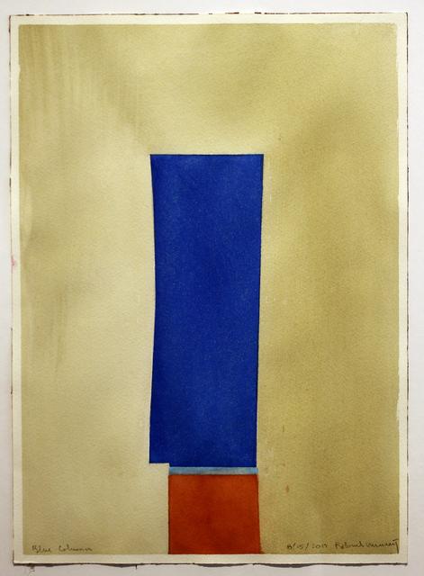, 'Blue Column (No. 4),' 2017, Studio 21 Fine Art