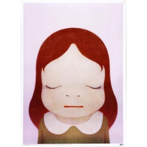 Yoshitomo Nara, 'Cosmic Girl (Eyes Shut)', 2008, Artsnap