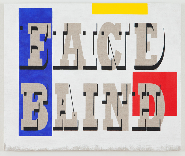 , 'Face Blind/Blind Faith,' 2013, Resource Art