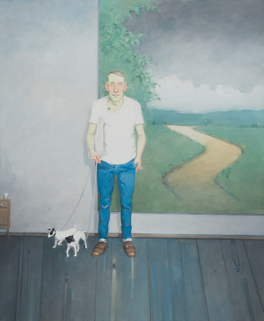 , 'Homem com Parelha de Cães [Man with Pair of Dogs],' 2013, Zipper Galeria